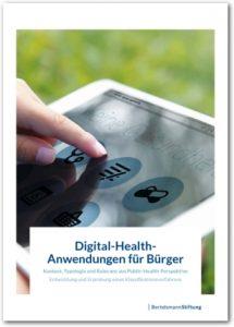 Bertelsmann Studie zu E-Health und Online sprechstunde, Cover