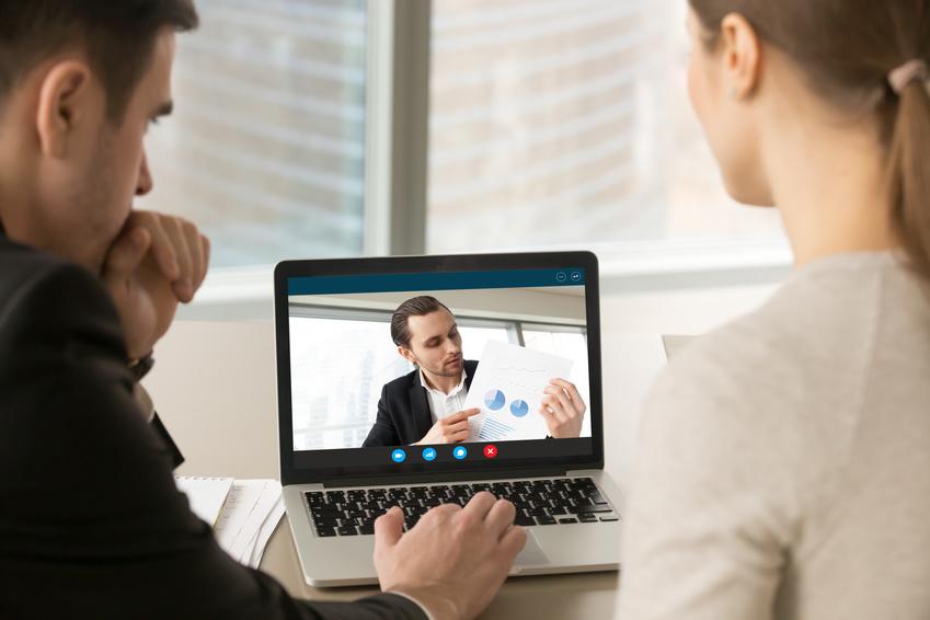 Expertenzuschaltung per Video im online Banking