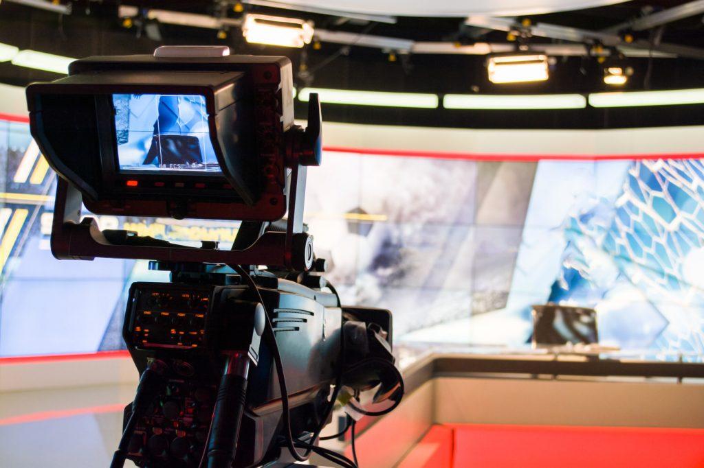 TV Kamera und TV Studio