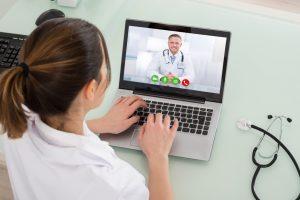 Videosprechstunde mit dem Facharzt