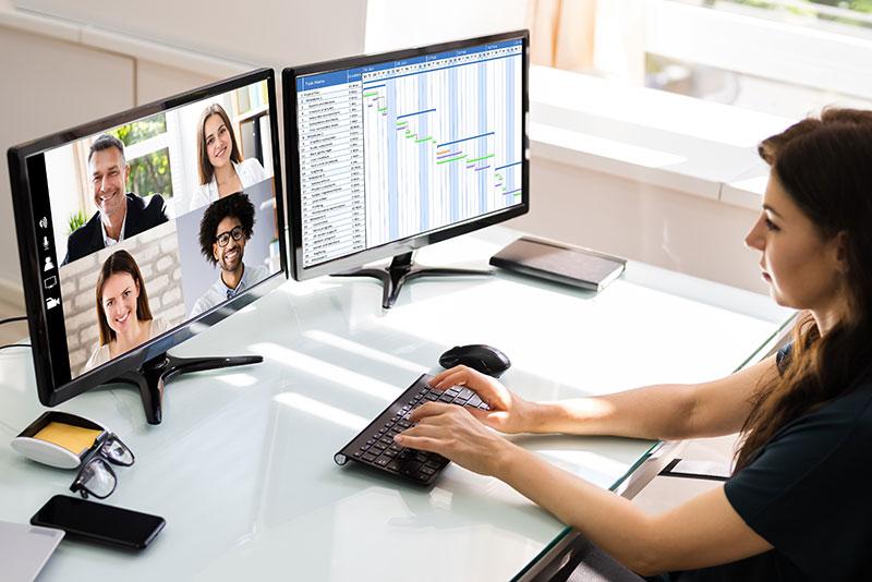 Erfolgreich in virtuellen Meetings – Online Seminare für Firmen